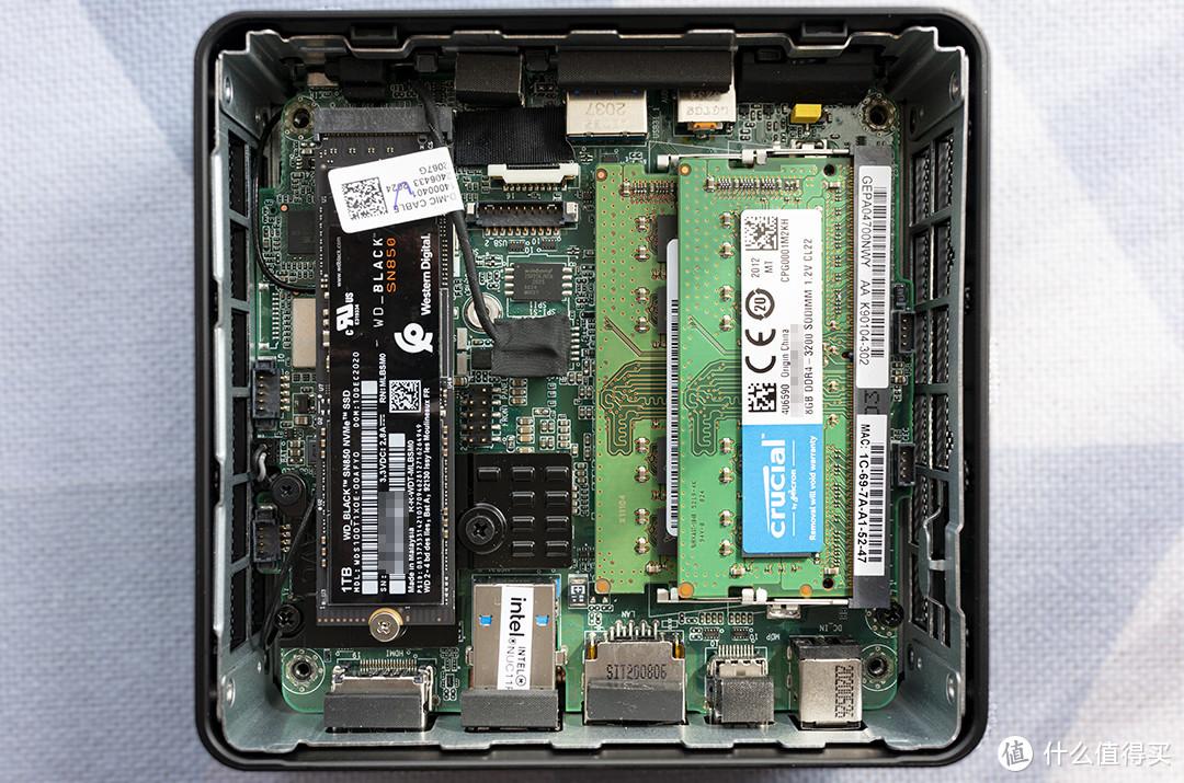 SN850 PCIe 4.0 SSD和16G镁光内存伺候